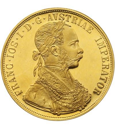 Austria 4 dukaty 1915