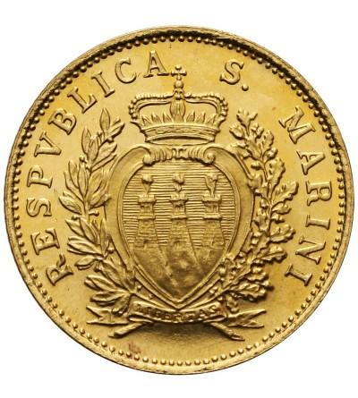 San Marino 1 scudo 1975