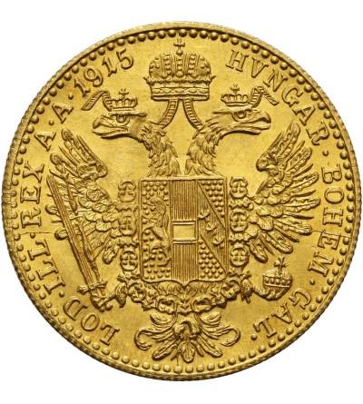 Austria Ducat 1915 - Restrike