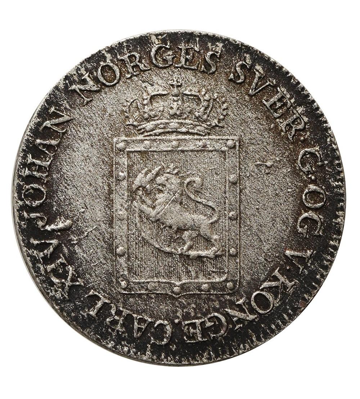 Norway 4 Skilling Species 1825 JMK