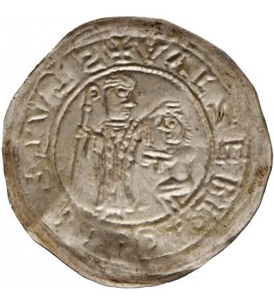 Polska. Bolesław III Krzywousty 1102-1138. Brakteat protekcyjny