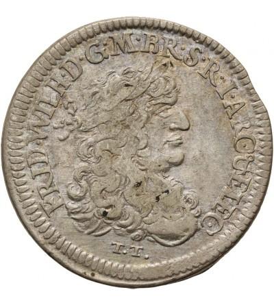 Brandenburg Prussia 1/3 Taler 1770 TT, Königsberg