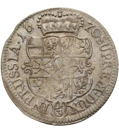 Prusy 1/3 talara 1770 TT, Królewiec