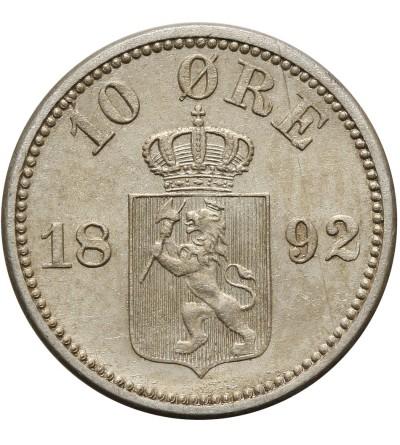 Norway 10 Ore 1892