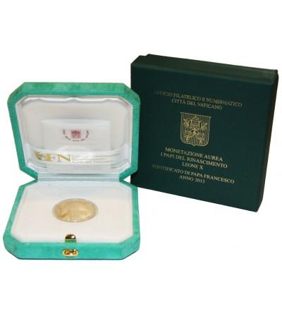 Watykan 50 euro 2013, Franciszek I - Proof