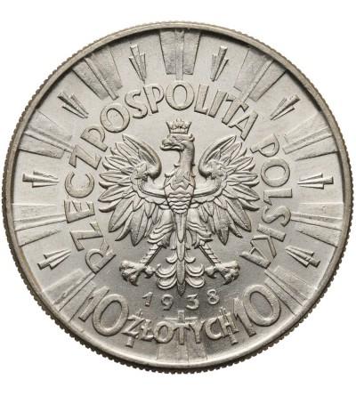 Poland 10 Zlotych 1938, Jozef Pilsudski