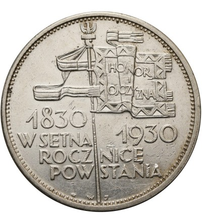 Poland 5 Zlotych 1930, flag