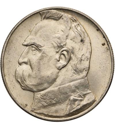 Poland 10 Zlotych 1937, Jozef Pilsudski