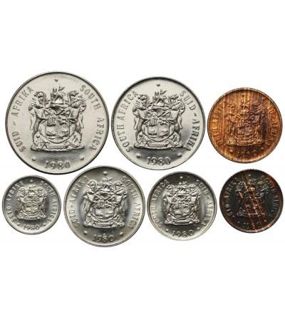 South Africa set coin 1980 - 7 Pcs SOUTH AFRIK