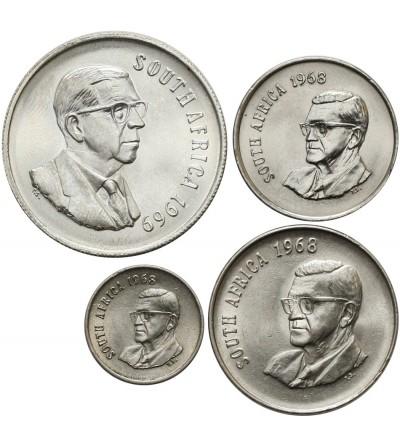 South Africa set coin 1968-69 - 4 Pcs SOUTH AFRIKA