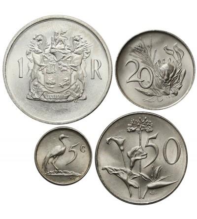 RPA rocznikowy zestaw monet 1968-1969 - 4 sztuki SOUTH AFRICA