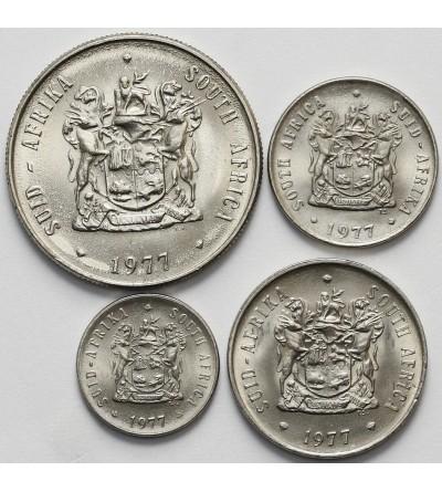RPA rocznikowy zestaw monet 1977 - 4 sztuki