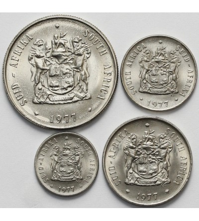 South Africa set coin 1977 - 4 Pcs