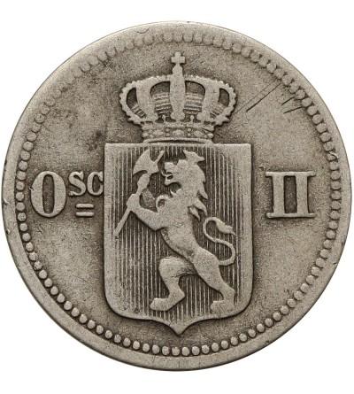 Norwegia 10 ore / 3 skilling 1874