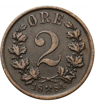 Norwegia 2 ore 1884