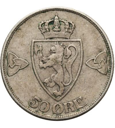 Norwegia 50 Ore 1914