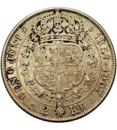 Szwecja 2 korony 1907