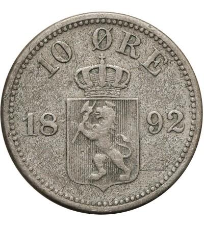 Norwegia 10 Ore 1892