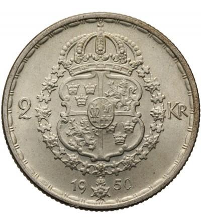 Szwecja 2 korony 1950 TS