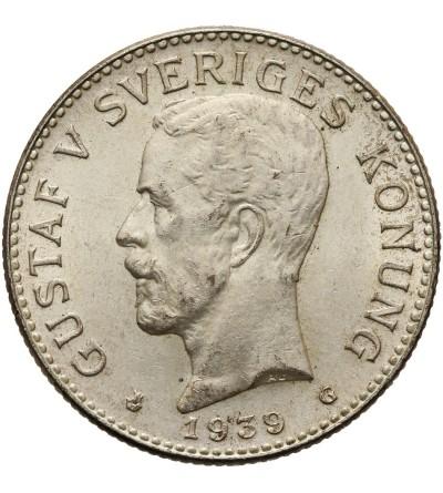 Szwecja 2 korony 1939 G