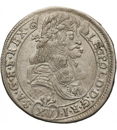 Austria. 15 krajcarów 1687 KB, Kremnica