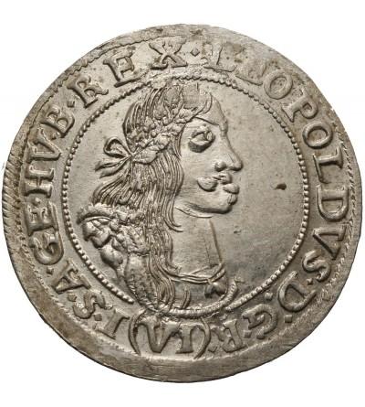 Austria. 6 krajcarów 1667 KB, Kremnica
