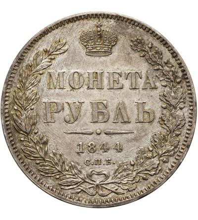 Rosja. Rubel 1844 СПБ-КБ, St. Petersburg