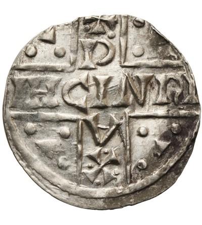 Niemcy. Bawaria, Ratyzbona. Denar ok. 1018-1026, Henryk V Mozelski 1004-1026