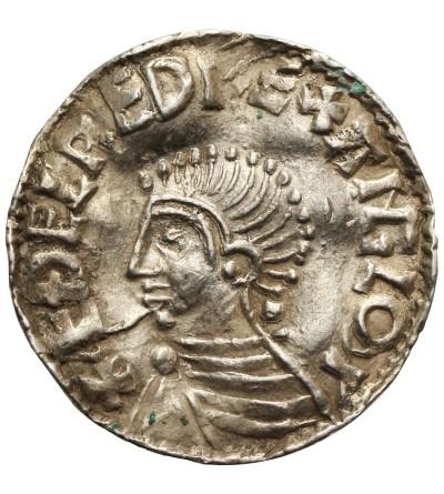 Anglia. Aethelred II 978-1016. Denar typu long cross, ok 997-1003, mennica Lincoln