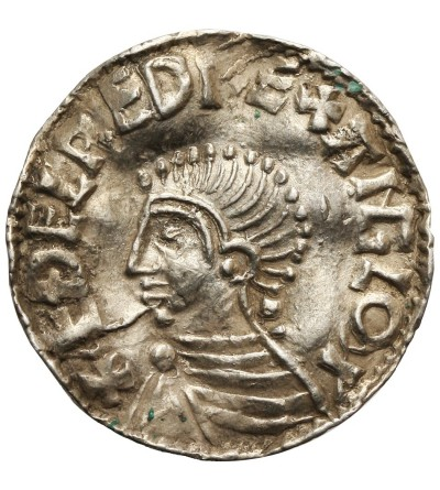 England. Aethelred II 978-1016. Penny Long Cross type, Ca. 997-1003, Lincoln Mint
