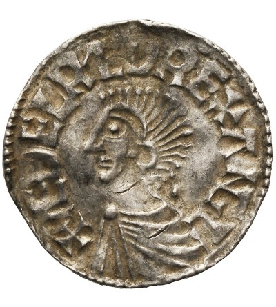 Angland. Aethelred II 978-1016. Penny Long Cross type, Ca. 997-1003, London mint