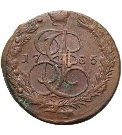 Rosja 5 kopiejek 1785 EM