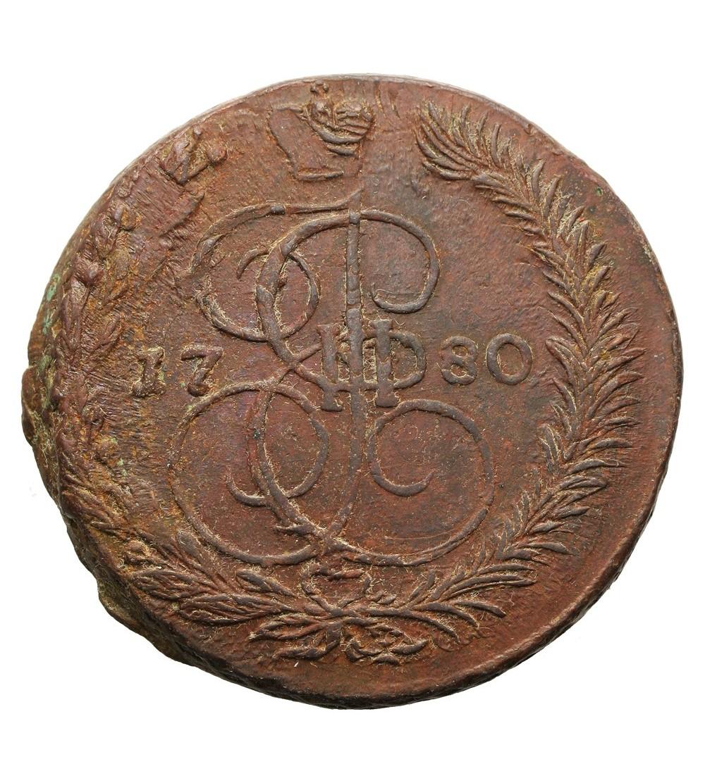 Rosja 5 kopiejek 1780 EM