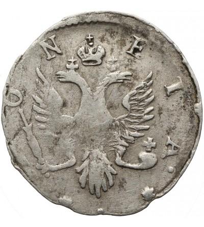 Rosja 4 kopiejki 1757, dla Liwonii
