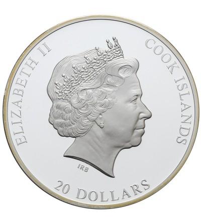 Wyspa Cooka 20 dolarów 2014