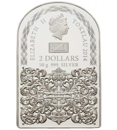 Tokelau 2 dolary 2014, Obraz Miłosierdzia Bożego