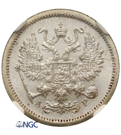 10 kopiejek 1902, St. Petersburg - NGC MS66