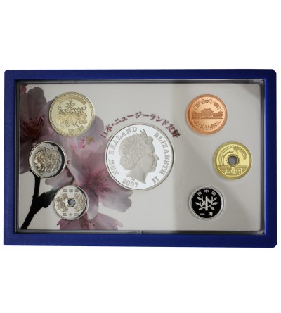 New Zealand - Japan Friendship  2007 - Proof set