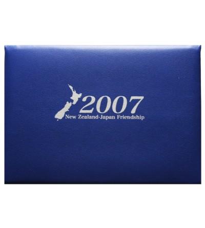Przyjaźń Nowej Zelandii z Japonią 2007 - Proof set