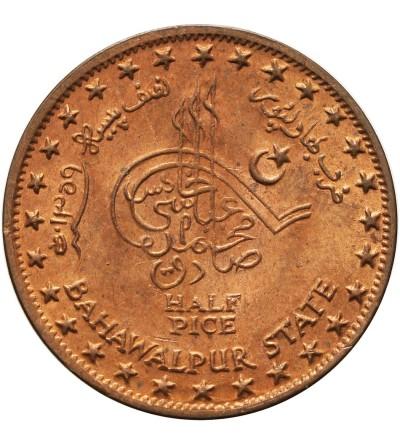 Indie - Bahawalpur 1/2 pica 1940