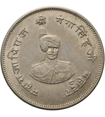 Indie - Bikanir rupia 1937, Ganga Singhji
