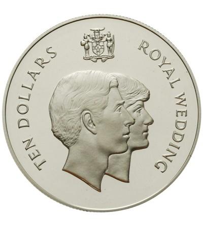 Jamajka 10 dolarów 1981