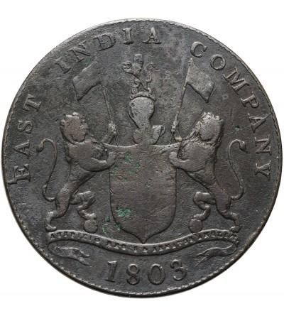 Indie Brytyjskie 20 cash 1803, Madras