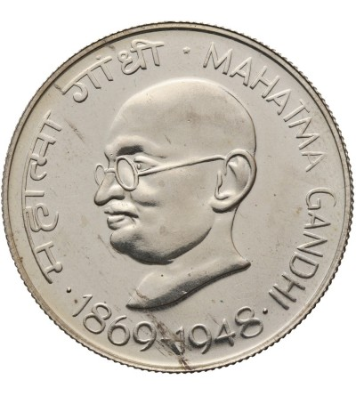Indie 10 rupii 1969 (B), Mahatma Gandhi