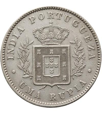 Indie Portugalskie rupia 1881