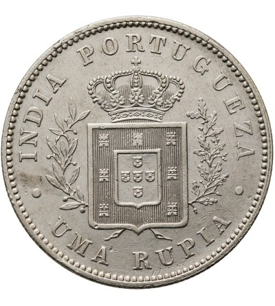 Indie Portugalskie rupia 1882