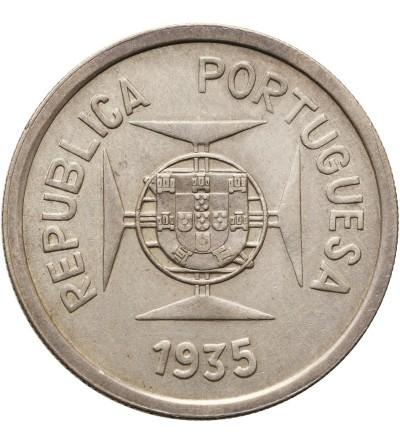 Indie Portugalskie rupia 1935