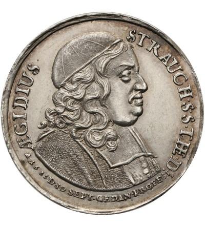 Polska. Medal 1678 Aegidius Strauch, Gdańsk