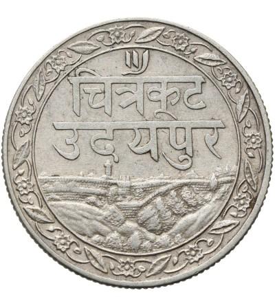 Indie - Mewar 1/2 rupii 1928