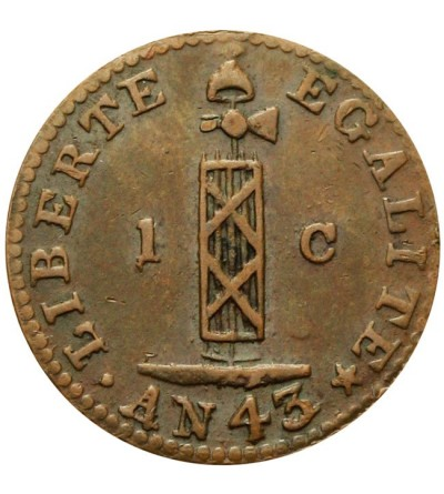 Haiti 1 centime 1846